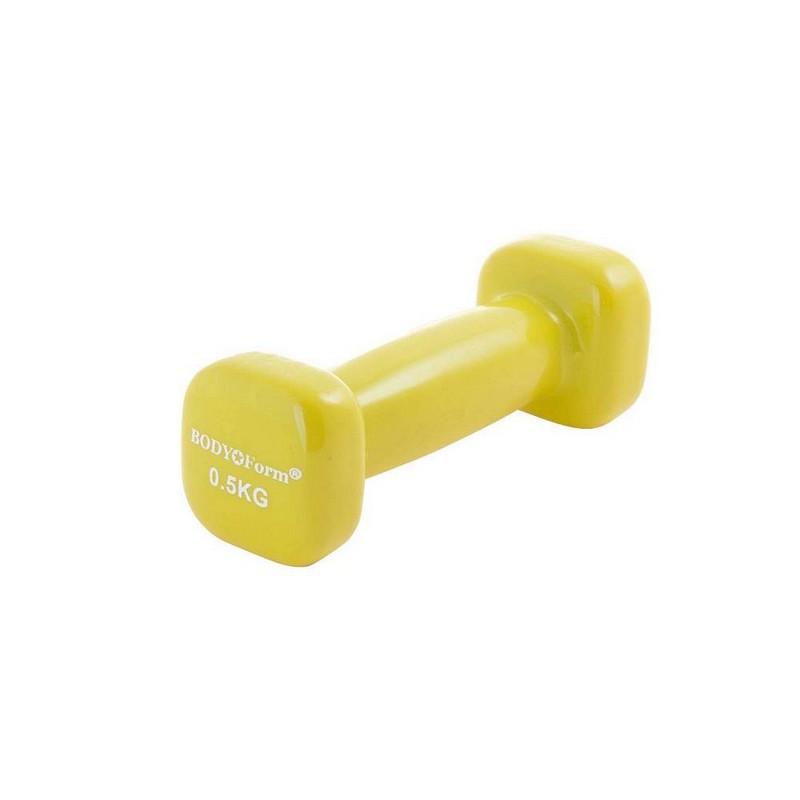 Гантель виниловая 0,5 кг Body Form BF-DV05,  - купить со скидкой
