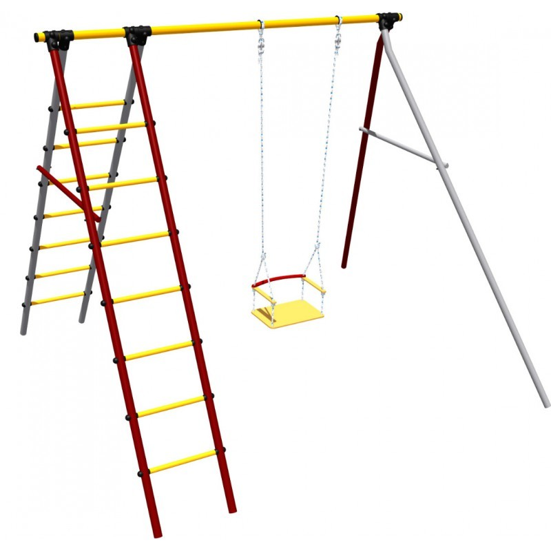Купить Дачный спортивный комплекс Алфавит Romana СК-3.3.19.07, Детские спортивные комплексы, площадки