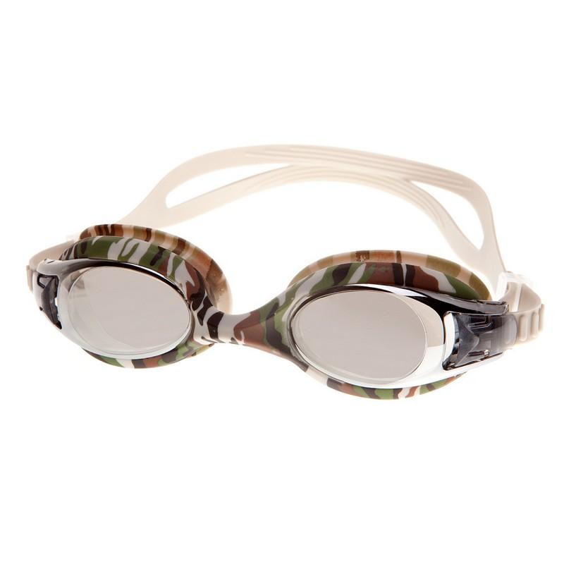 Купить Очки для плавания Alpha Caprice JR-G1600M Grey,