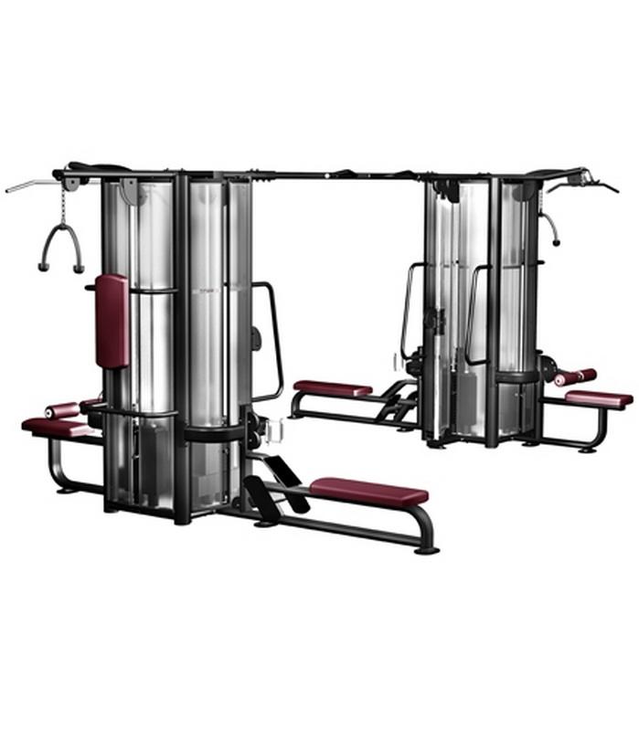 Мультистанция с 8 весовыми стеками Kraft Fitness KFMJ8 фото