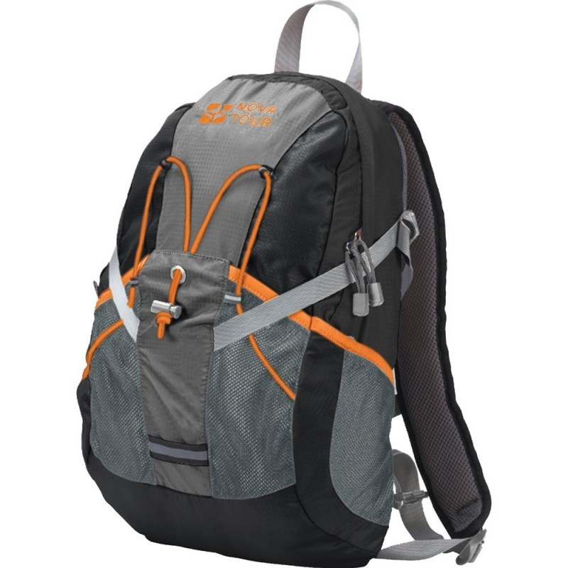 Рюкзак NovaTour Вижн 20 черный-серый