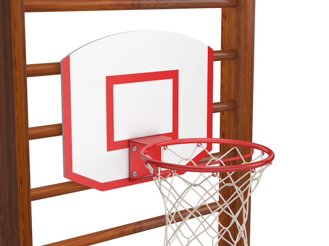 Кольцо баскетбольное на шведскую стенку Glav 02.306