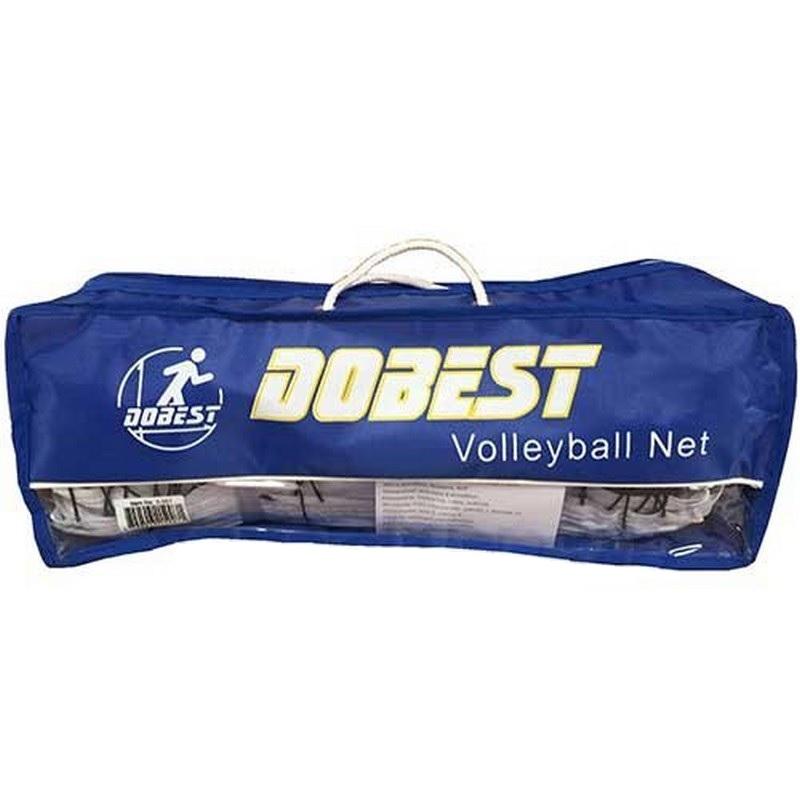 Сетка волейбольная с тросом Dobest 5-007, 950х100см