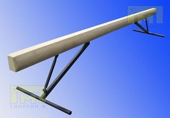 Купить Бревно гимнастическое Atlet высокое, регулируемое 5,0 м IMP-A398,