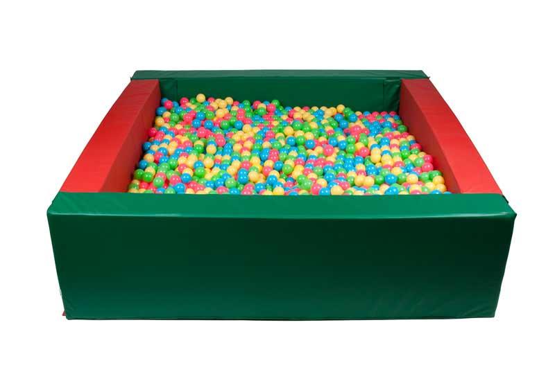 Прямоугольный сухой бассейн 2800х2400х700х200мм Спортивные Технологии