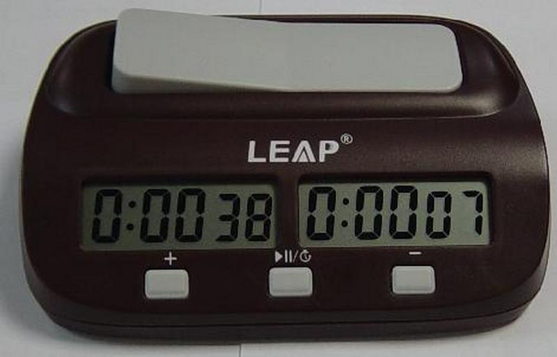 Часы шахматные электронные Leap Easy от Дом Спорта