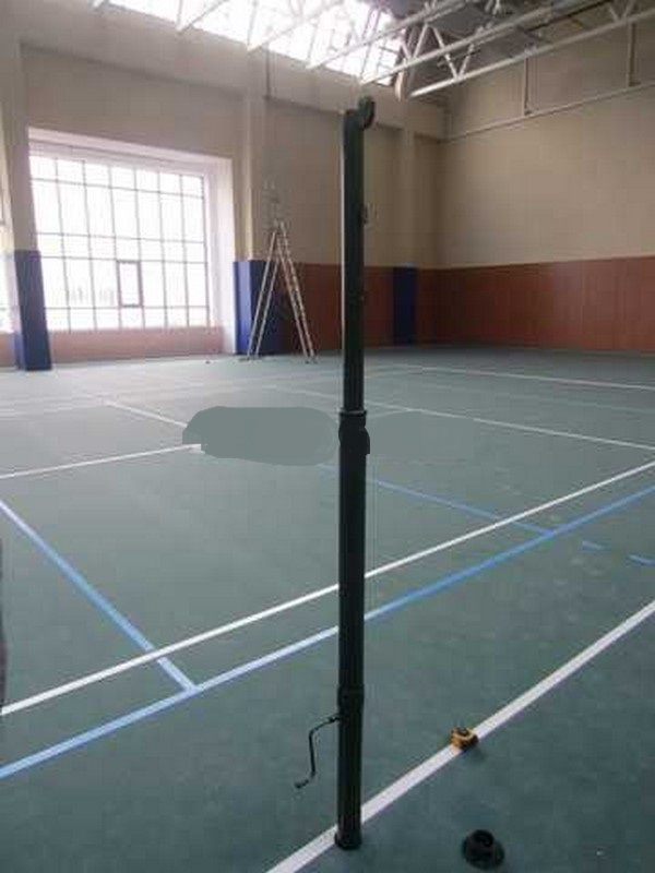 Стойки волейбольные телескопические, пара sportiko