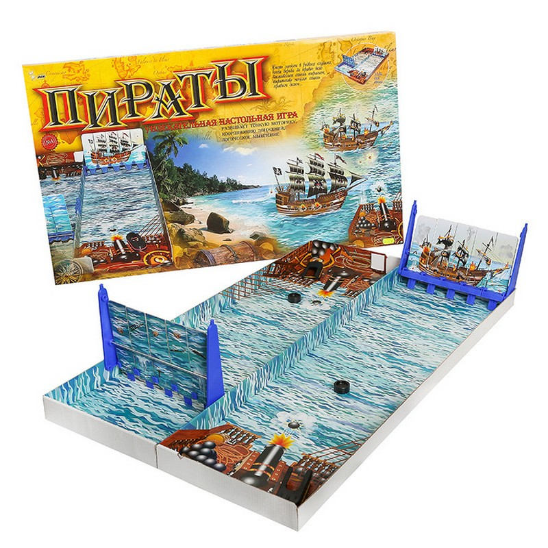 Настольная игра Пираты ompir