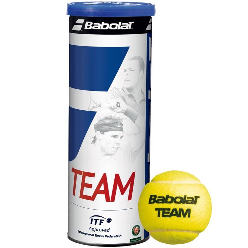 Купить Мяч теннисный 3 шт. Babolat Team 3B 501041,