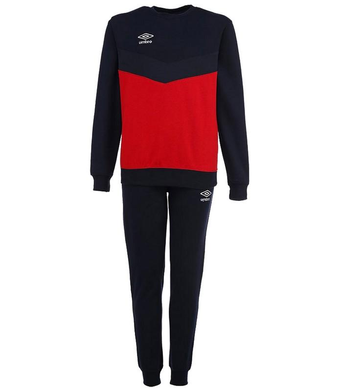 Костюм спортивный Umbro Unity Cotton Suit мужской 353015 (291) красн/т.син/бел.