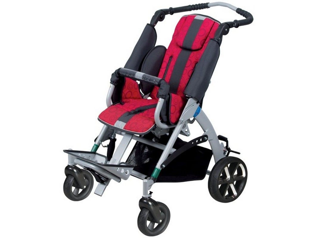 Кресло-коляска детская Titan Deutschland Gmbh LY-710-TOM5 Clipper maxi (ширина сиденья 27-39см)