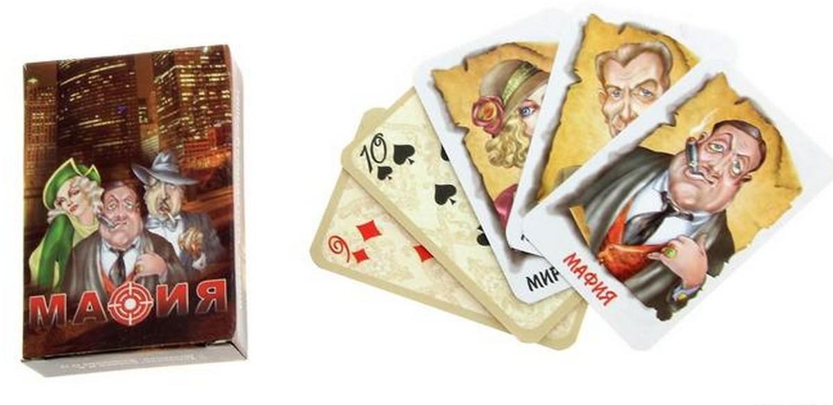 Настольная игра Мафия 17 карт 7093/144