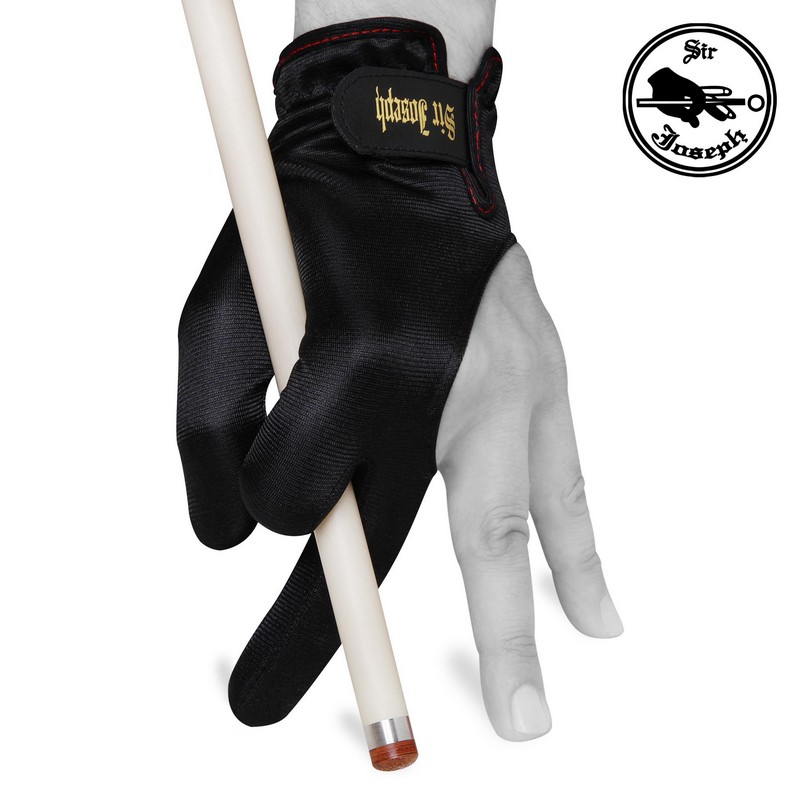 Перчатка Sir Joseph De Luxe Velcro чёрная