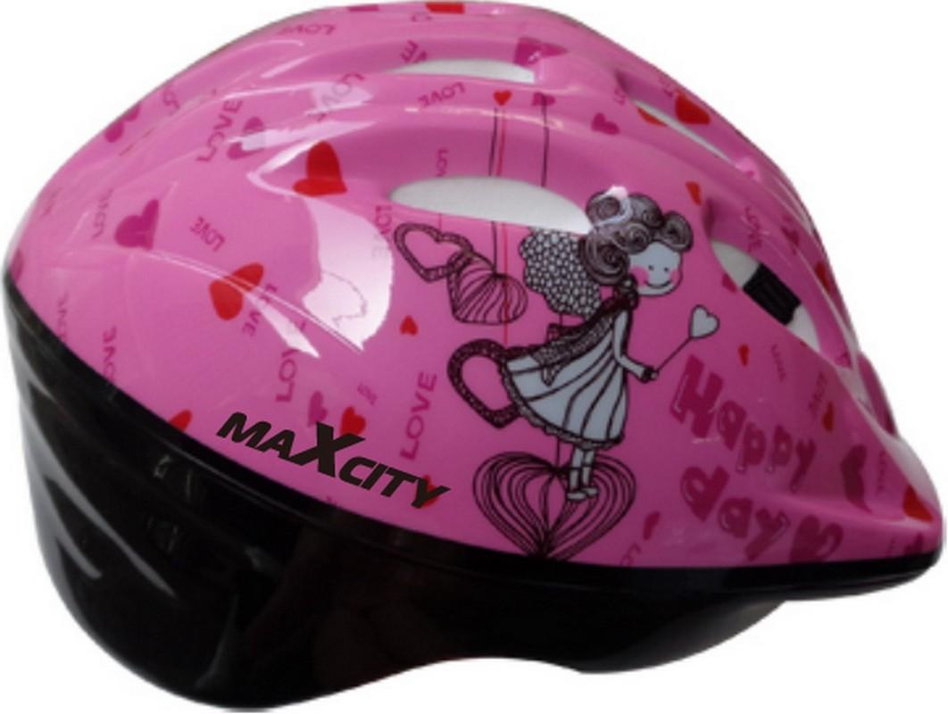 Шлем детский MaxCity Baby Angel с регулировкой размера