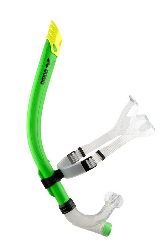 Трубка для плавания Arena Swim Snorkel Acid Lime (95257 65)