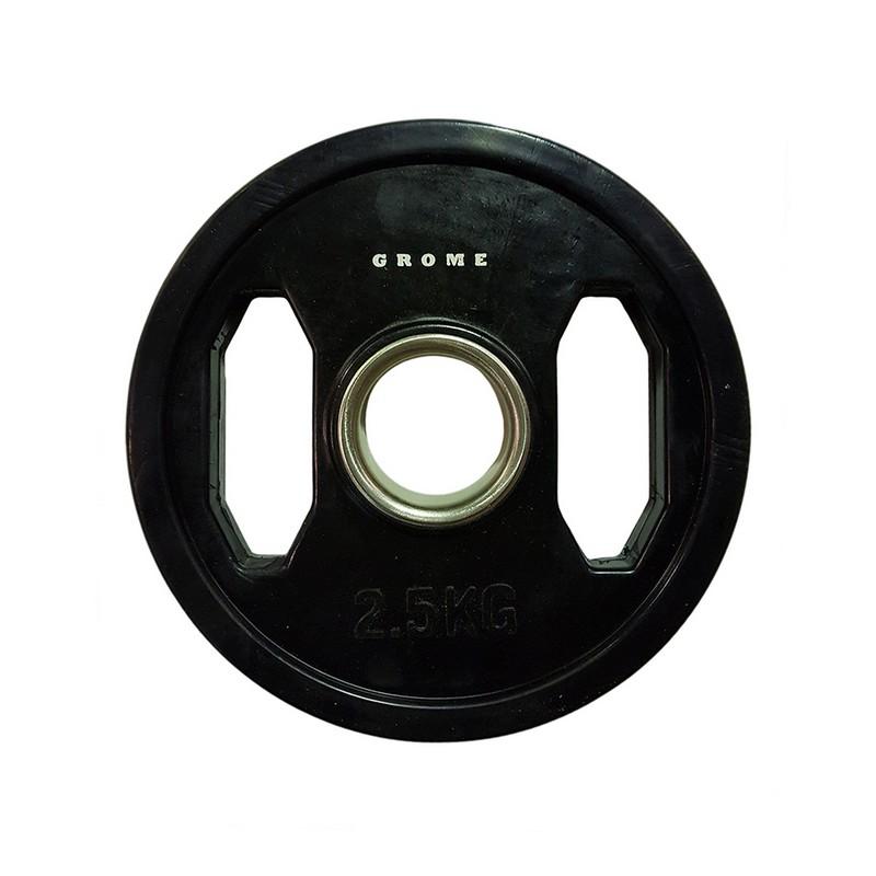 Купить Диск олимпийский d51мм Grome Fitness WP027-2,5 черный,