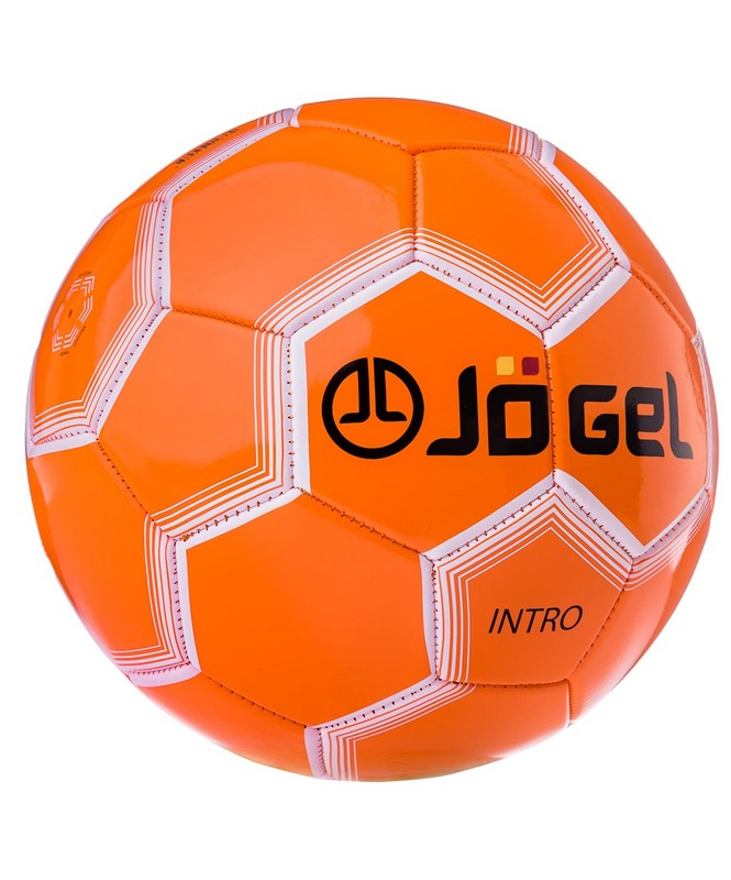 Купить Мяч футбольный Jögel JS-100 Intro №5 оранжевый,
