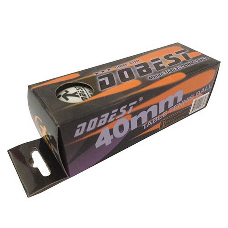 Купить Мячи для настольного тенниса Dobest BA-01 3 звезды 3шт,
