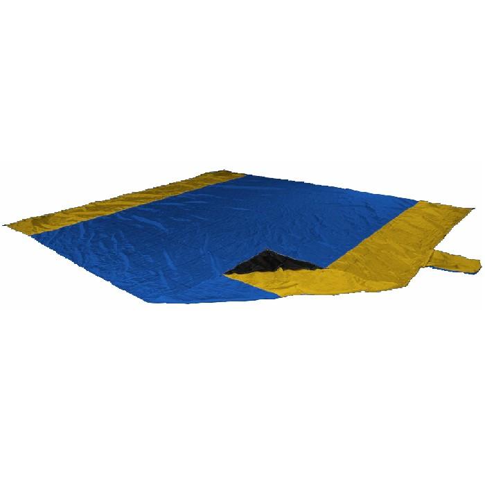 Пляжное покрывало/The Beach Blanket Ticket to TheMoon TMBB2837 (синий/т. желтый)