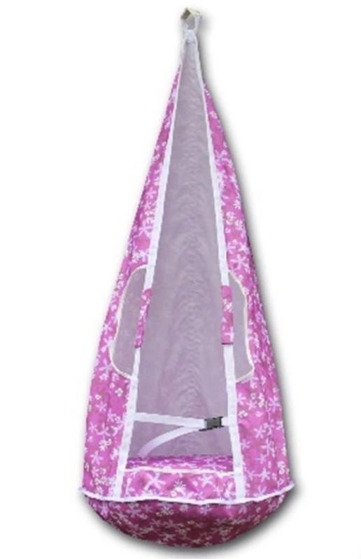Качели-гамак Belon Ка-001 маленькие, розовые герберы