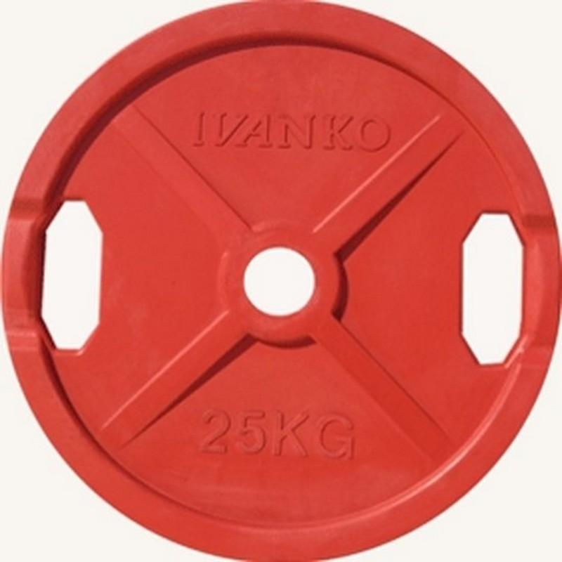 Купить Диск d51 мм Johns 25 кг DR71022 - 25С красный,