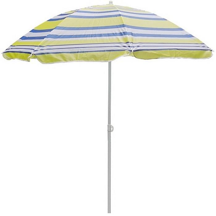 Зонт пляжный 001-025 синий/жёлтый/голубой р 200см