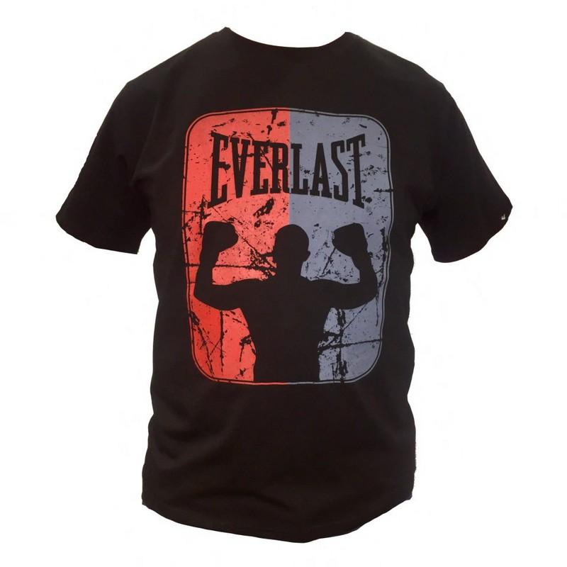 Футболка Everlast Boxer черный футболка everlast everlast ev001emzyr65