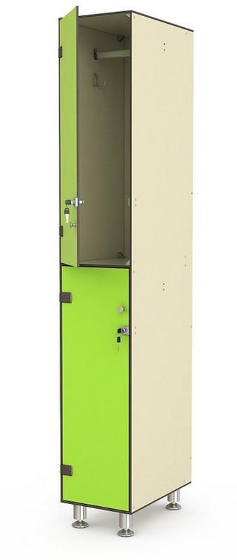 Шкаф СТ 1-2 (2 ячейки) 316х500х1950мм