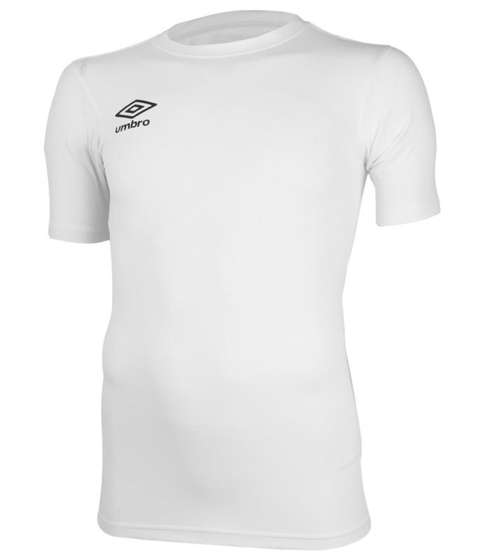 Футболка тренировочная Umbro FW SS Crew base layr мужская (002) белая