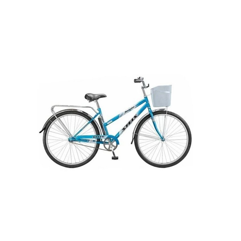 Велосипед Stels Navigator 28 300 Lady Z010 (с корзиной) (LU085342),  - купить со скидкой