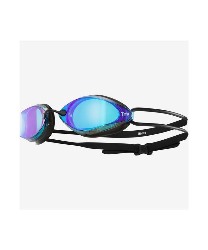 Купить Очки TYR Tracer-X Racing Mirrored, LGTRXM/422, голубой,