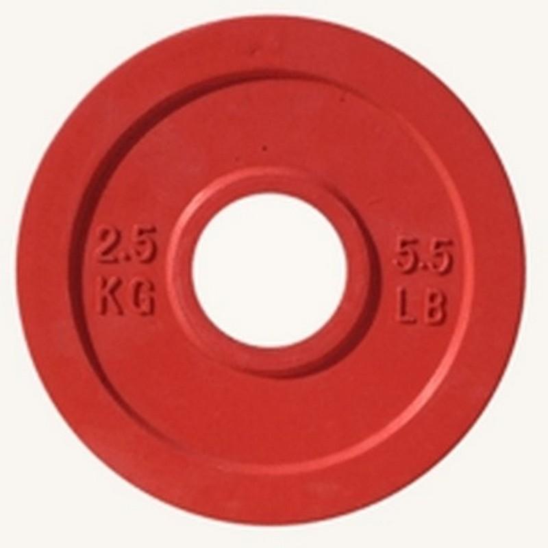 Купить Диск Johns d51мм, 2,5кг DR71025 - 2,5С красный,