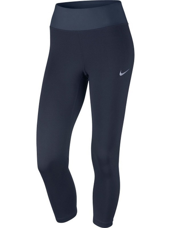 Тайтсы женские Nike Pwr Essntl Crop Df W 831657-451, т.синие