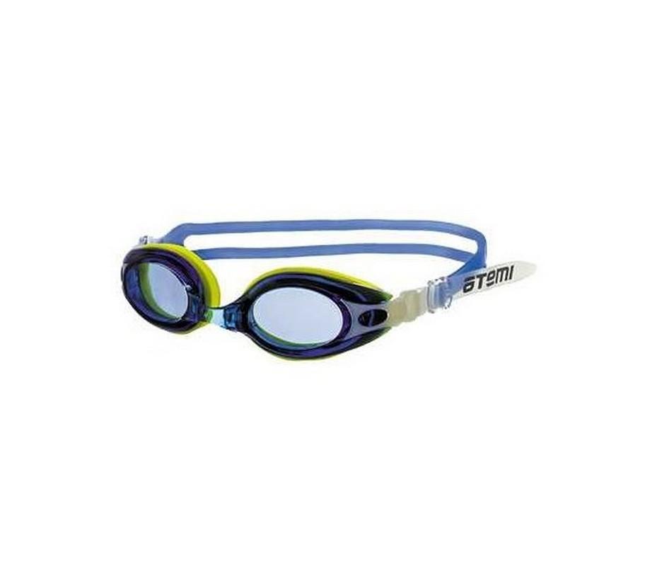 Очки для плавания Atemi M503 синий-желтый,  - купить со скидкой