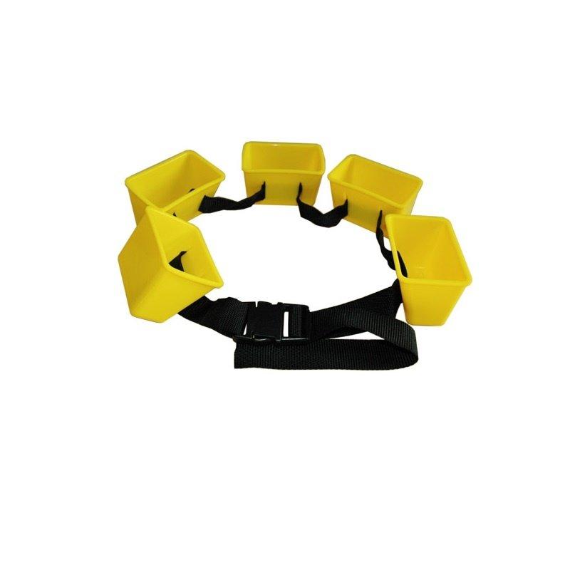 Акватормоз ДИС18, 5 стаканчиков, желтый