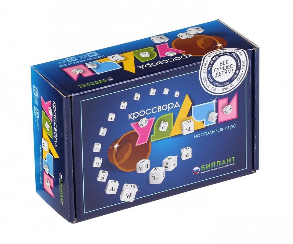 Настольная игра Кроссворд Удачи синий bp10038