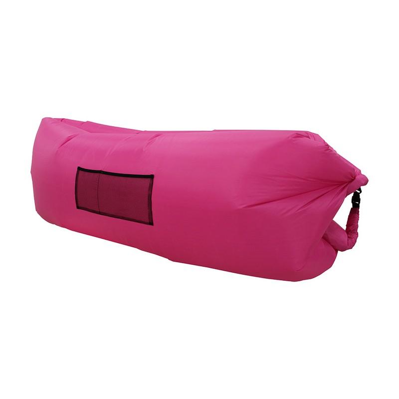 Надувной лежак Lamzac розовый