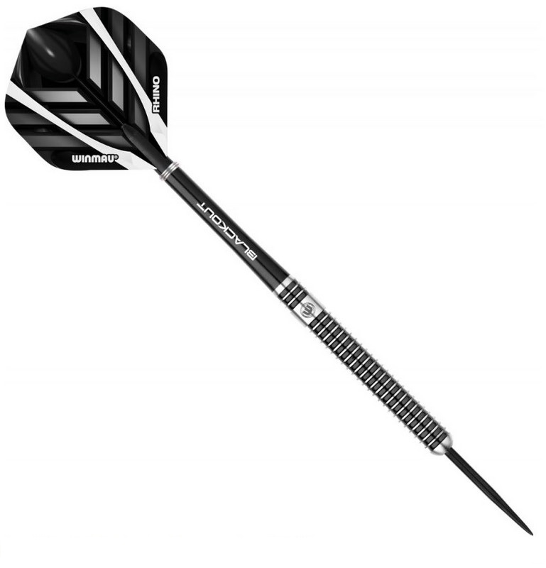 Дротики Winmau Blackout 90% steeltip 24gr дротики