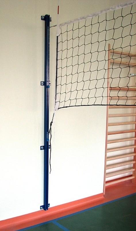 Стойки волейбольные PolSport пристенные многофункциональные 2 шт.