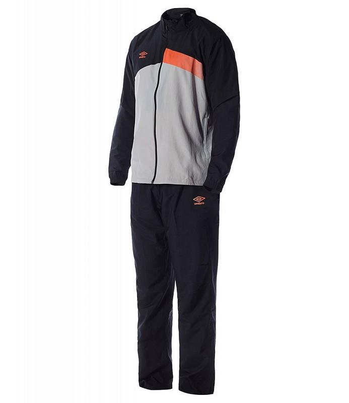 Костюм спортивный Umbro Velocita Woven Suit мужской 62899U (CVL) черн/сер/оранж.