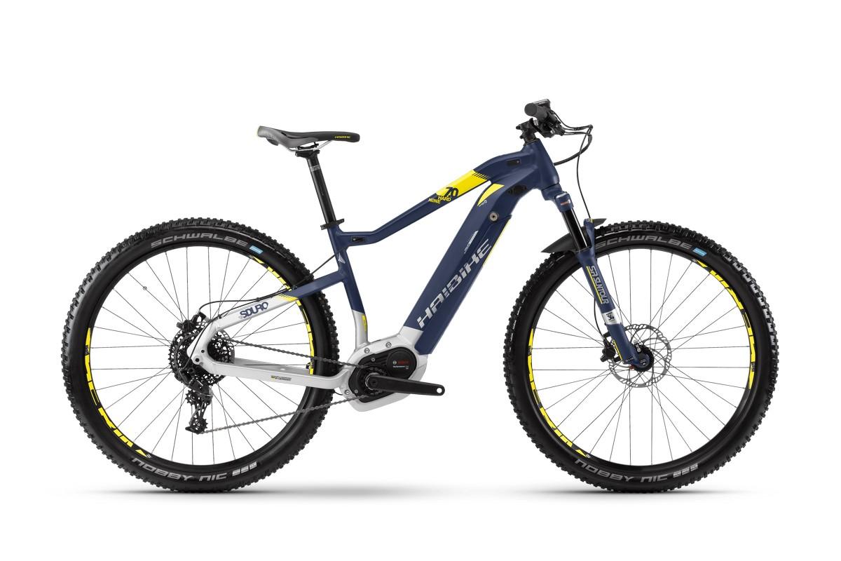 Электровелосипед Haibike Sduro HardNine 7.0 500Wh 11s NX (2018)