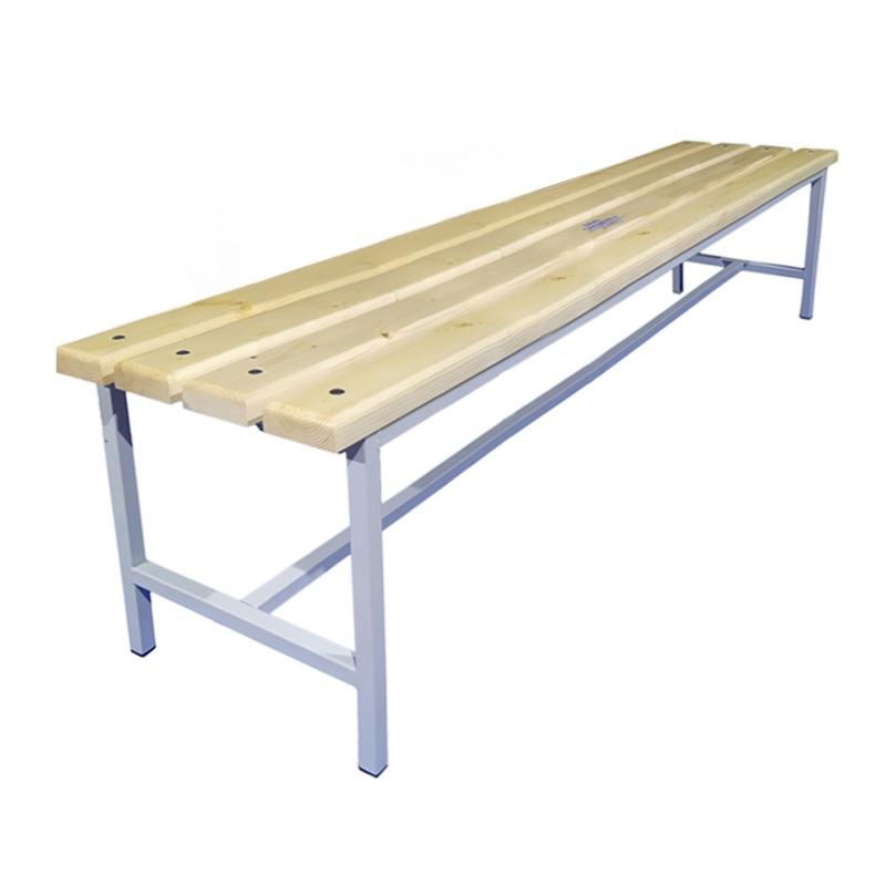 Купить Скамейка для раздевалки 2000 мм сиденье из дерева Dinamika ZSO-002204,