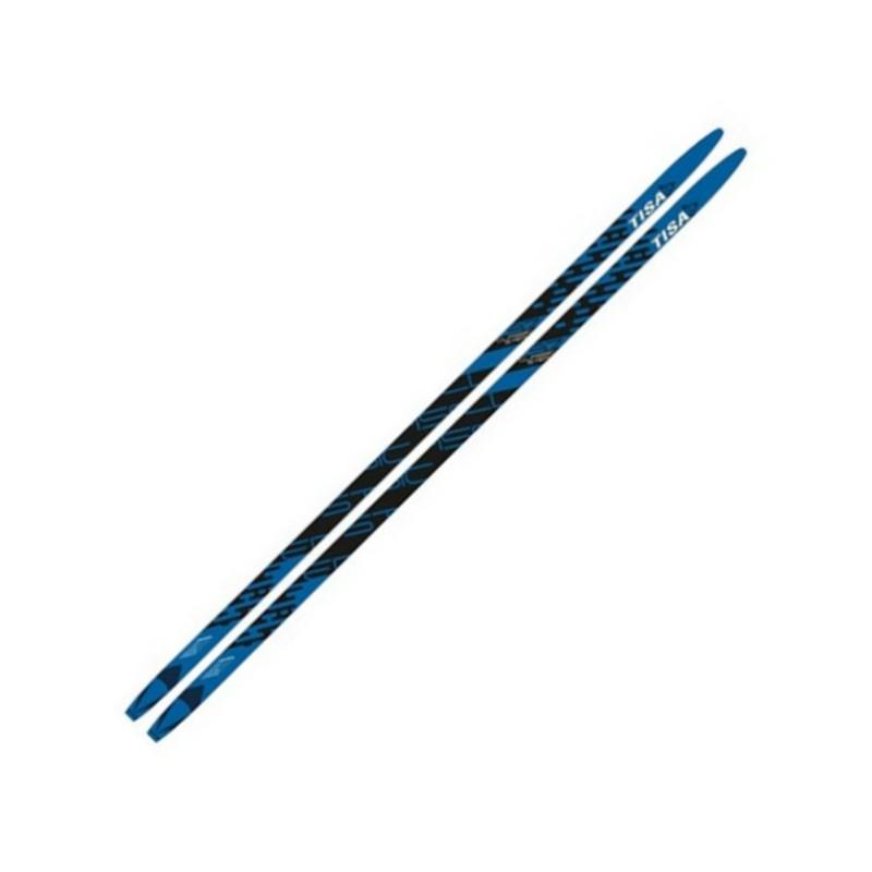 Лыжи беговые Tisa Classic Jr. Step N91917 синий/черный