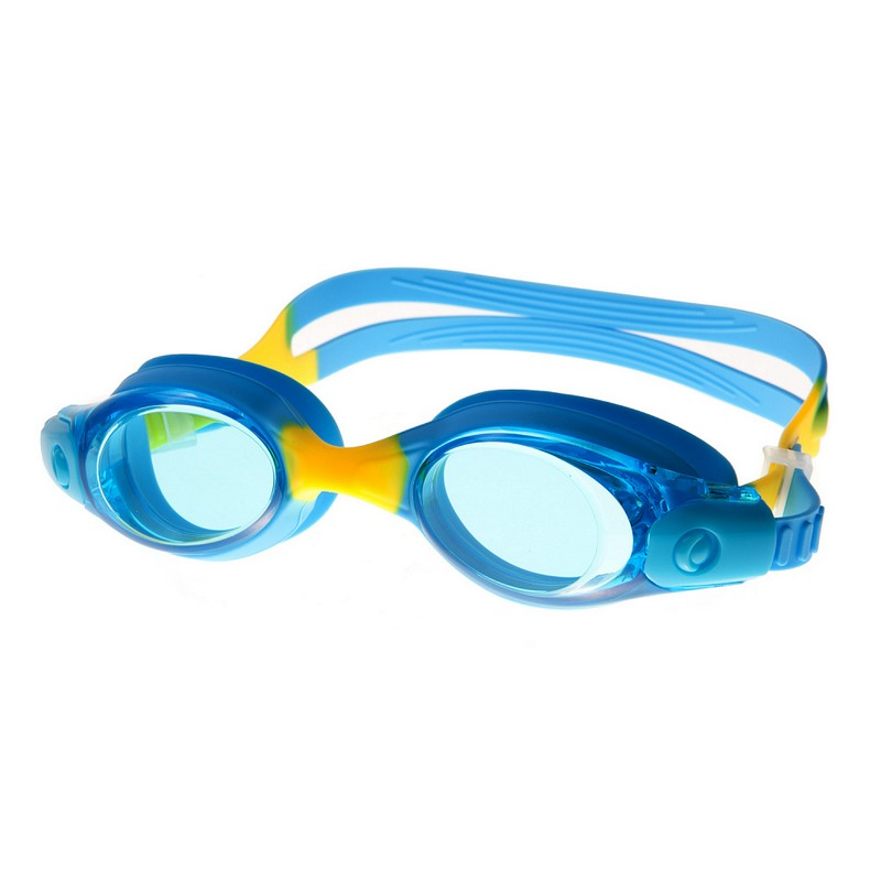 Очки для плавания Alpha Caprice AC-G50 D синий-желтый очки для плавания alpha caprice ac g35 d зеленый
