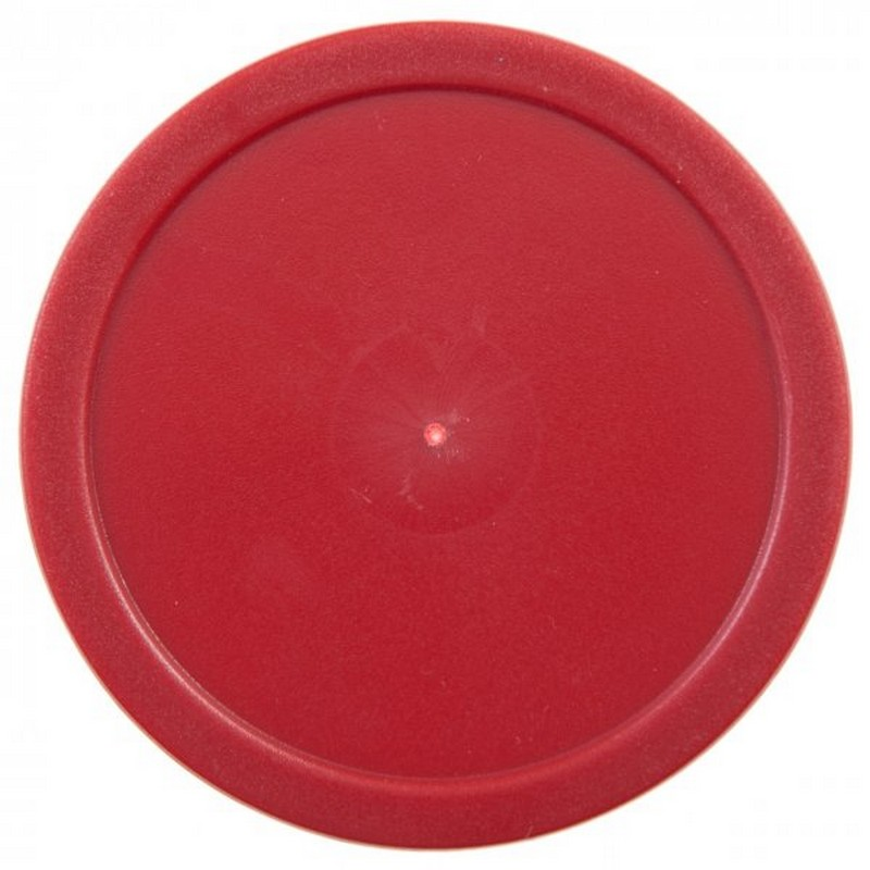 Шайба для аэрохоккея  d-76 мм, красная