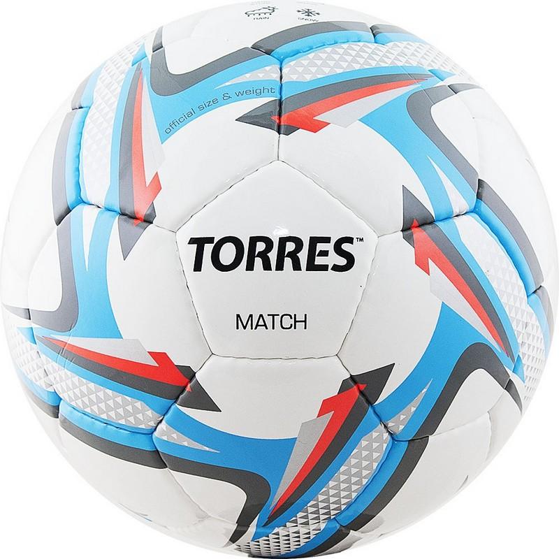 Купить Мяч футбольный Torres Match р.5 F31825,