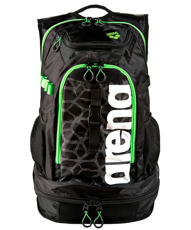 Рюкзак Arena Fastpack 2.1 black x-pivot/fluo green (1E388 506) черн/зел.