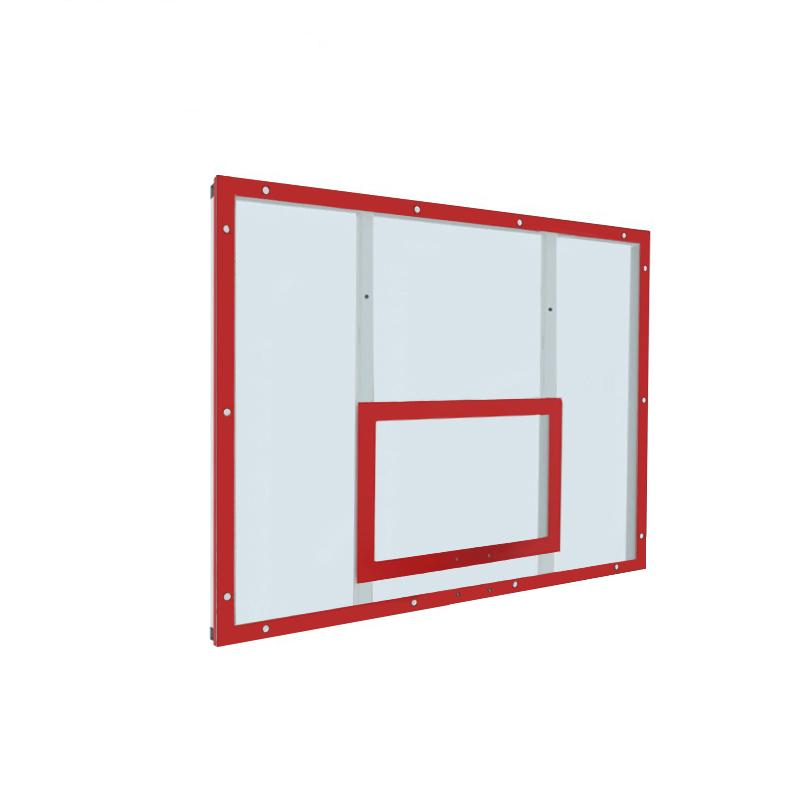 Купить Щит баскетбольный тренировочный 120х90 оргстекло на раме (разметка красная) Dinamika ZSO-002093,