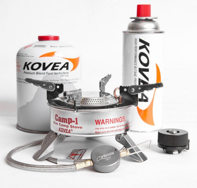 Горелка газовая Kovea Expedition Stove Camp-1 TKB-9703-1L со шлангом