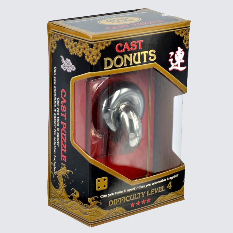 Купить Головоломка Пончик****/ Cast Puzzle Donuts****, NoBrand